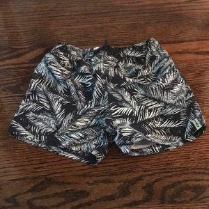 NWT 3pommes Leafy Swim Shorts